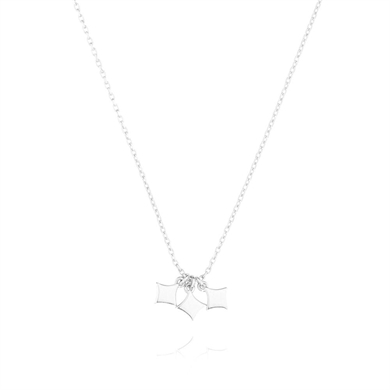 Linda Tahija Silver Night Star Necklace-accessories-Diahann Boutique