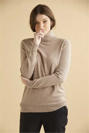 Elle and Riley Keaton Turtle Neck-jumpers-Diahann Boutique