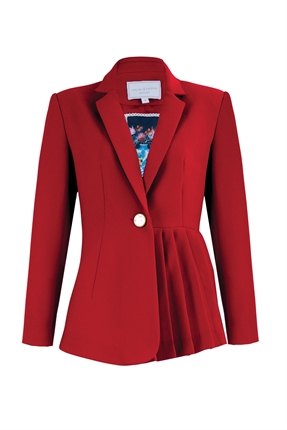 Trelise Cooper Don't Pleat About It-jackets-and-coats-Diahann Boutique
