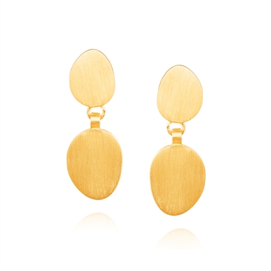 Linda Tahija Double Hannah Earring-accessories-Diahann Boutique