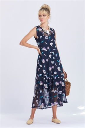 Loobie's Story Starlight Maxi Dress-dresses-Diahann Boutique
