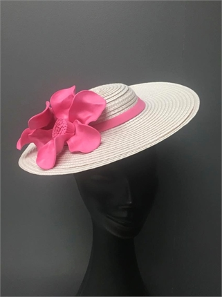 Claire Hahn Pink Hatinator-accessories-Diahann Boutique