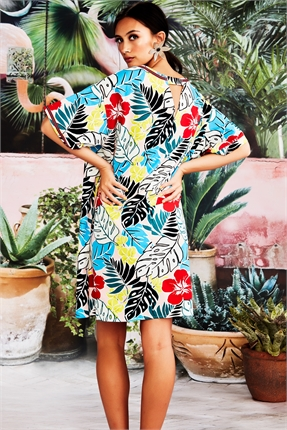 Curate Meet Me In Tunic Dress-dresses-Diahann Boutique