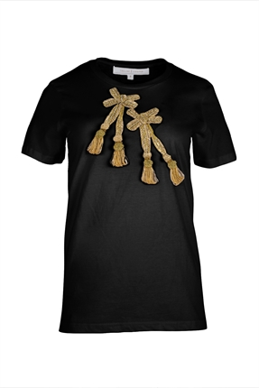Trelise Cooper Bad To The Bow T-Shirt-tops-Diahann Boutique