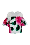 Trelise Cooper Wear Your Frill On Your Sleeve Top