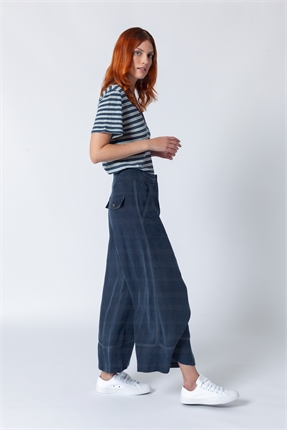 Sabatini Top Stich Wide Trousers-pants-Diahann Boutique
