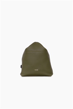 Yu Mei Brigette Backpack Seaweed-accessories-Diahann Boutique