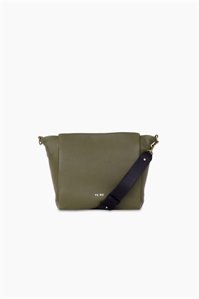 Yu Mei Judy Bag Seaweed-accessories-Diahann Boutique