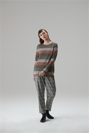 Standard Issue Five Stripe Jumper-jumpers-Diahann Boutique