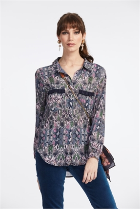 Loobie's Story Isabella Shirt-shirts-Diahann Boutique