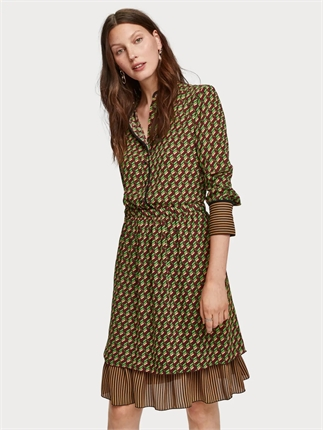 Scotch and Soda Gather Dress-dresses-Diahann Boutique