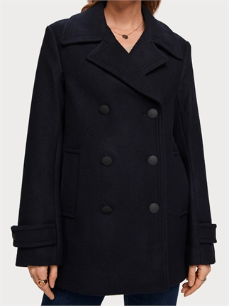 Scotch and Soda Peacoat-jackets-and-coats-Diahann Boutique