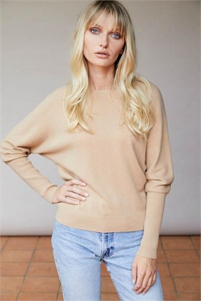 Elle and Riley Betsy Sleeve Sweater-jumpers-Diahann Boutique