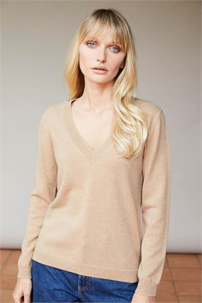 Elle and Riley Marni V Neck-jumpers-Diahann Boutique