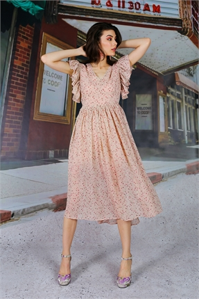 Coop Get Frilly Dress-dresses-Diahann Boutique