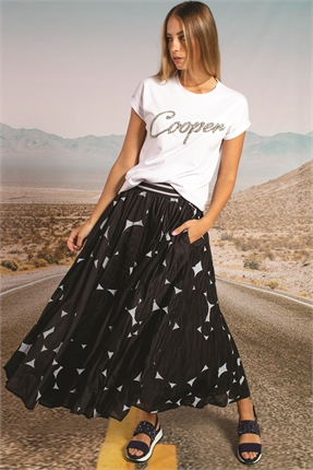 CooperCircle Of Life Skirt-skirts-Diahann Boutique