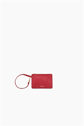 Yu Mei Amy Clutch Pompeian Red-accessories-Diahann Boutique