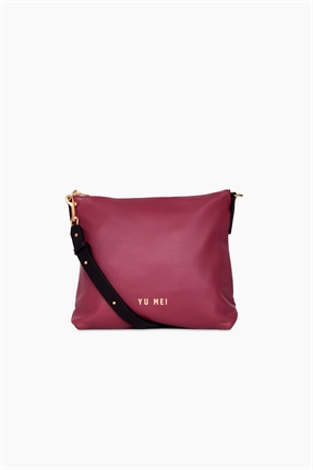 Yu Mei 3/4 Braidy Bag Roan Rouge-accessories-Diahann Boutique