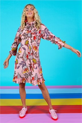 Coop Easy As Tie Dress-dresses-Diahann Boutique