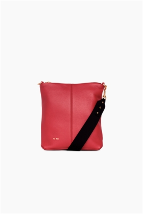 Yu Mei Jane Bag Pompeian Red-accessories-Diahann Boutique