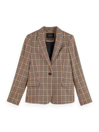 Scotch and Soda Classic Tailored Blazer-jackets-and-coats-Diahann Boutique