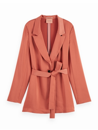 Scotch and Soda Drapey Blazer-jackets-and-coats-Diahann Boutique