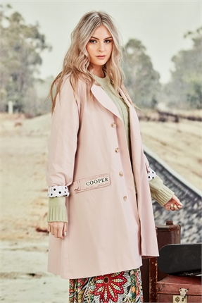 "Cooper I""M HOODWINKED JACKET -jackets-and-coats-Diahann Boutique"