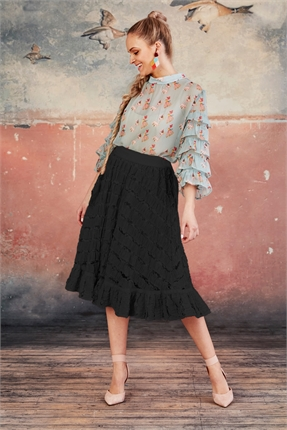 Coop JUST IN LACE SKIRT -skirts-Diahann Boutique