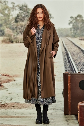 Cooper PLEATWOOD MAC COAT-jackets-and-coats-Diahann Boutique