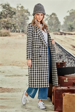 Cooper WASTE NOT WANT SCOT COAT -jackets-and-coats-Diahann Boutique