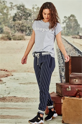 Cooper TRACK COOPER TRACKPANTS -pants-Diahann Boutique