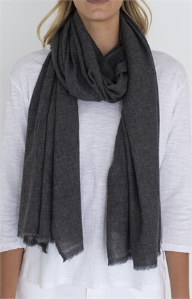 Humidity MELANGE WOOL MIX SCARF-accessories-Diahann Boutique