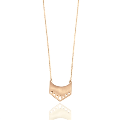 Linda Tahija Shield Necklace-accessories-Diahann Boutique