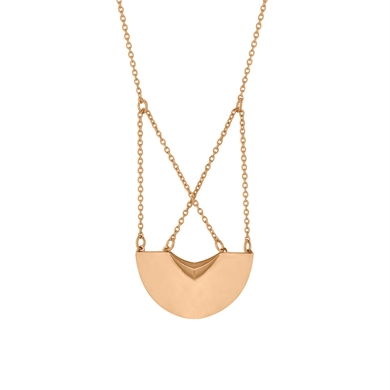 Linda Tahija Three Moons Necklace-accessories-Diahann Boutique