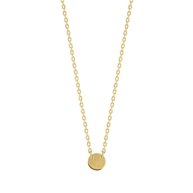Linda Tahija Little Disc Necklace-accessories-Diahann Boutique